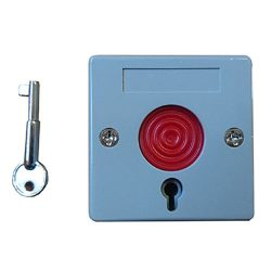 Panic button with reset key
