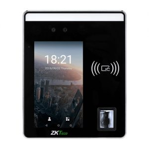 H5 Visual light facial recognition Access Control 5-inch Touch Screen